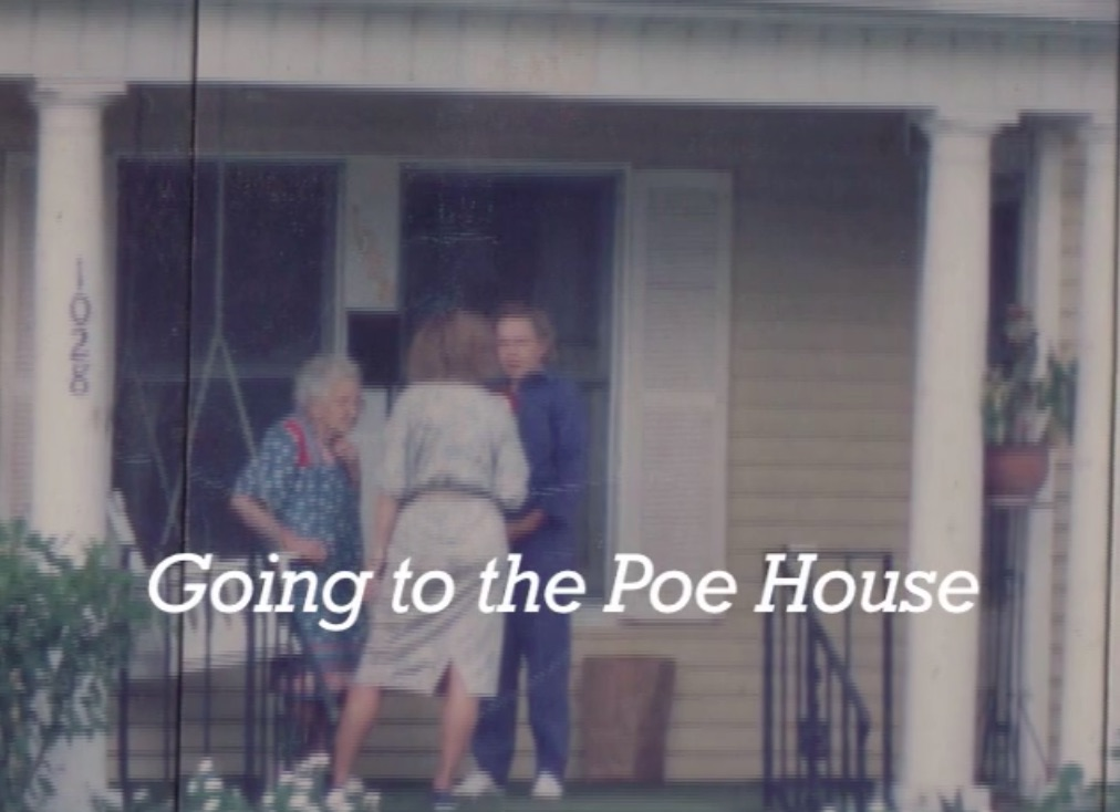 Video Still Frame from the documentary Going to the Poe House